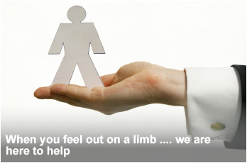 When you are out on a limb, we are here to help.